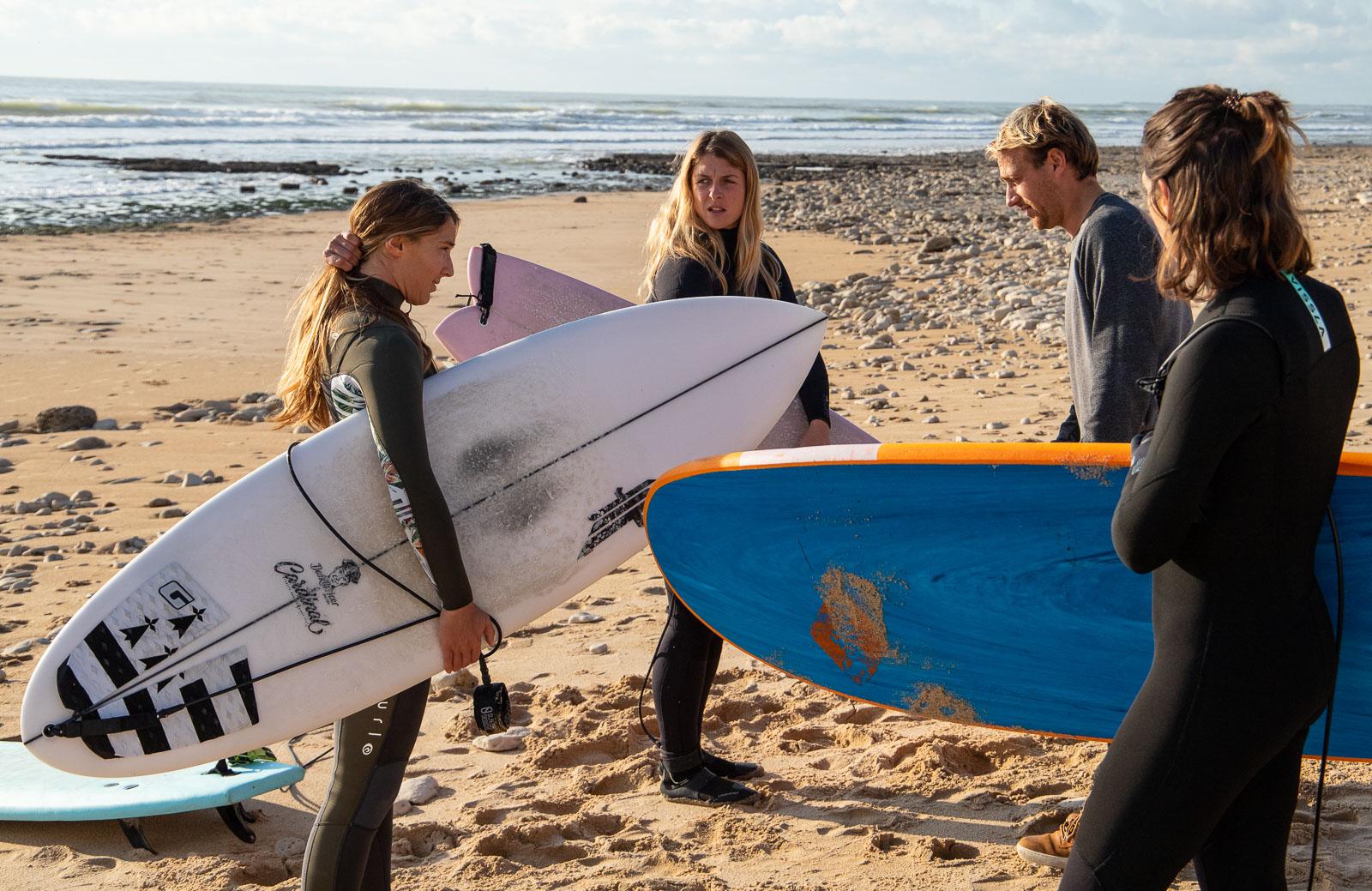 cours de surf ile de ré surf'in Ré
