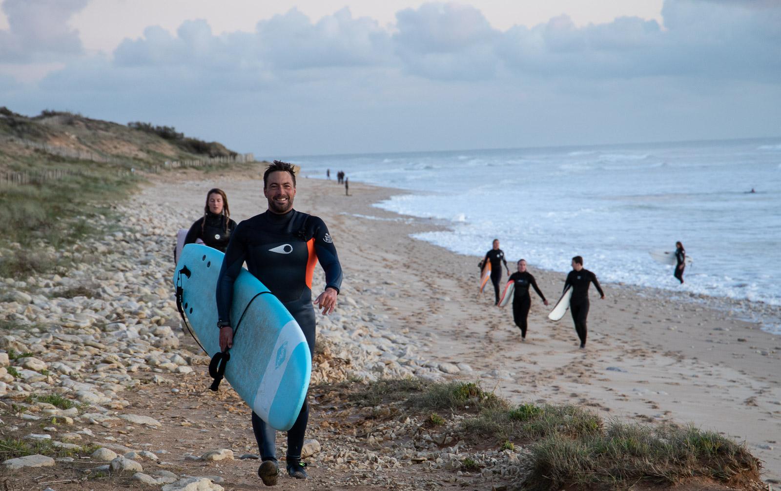 surf ile de ré
