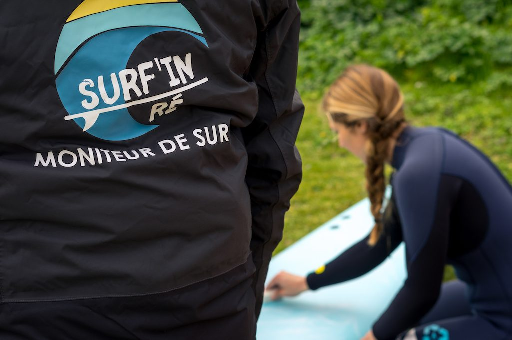 Ecole de surf ile de re