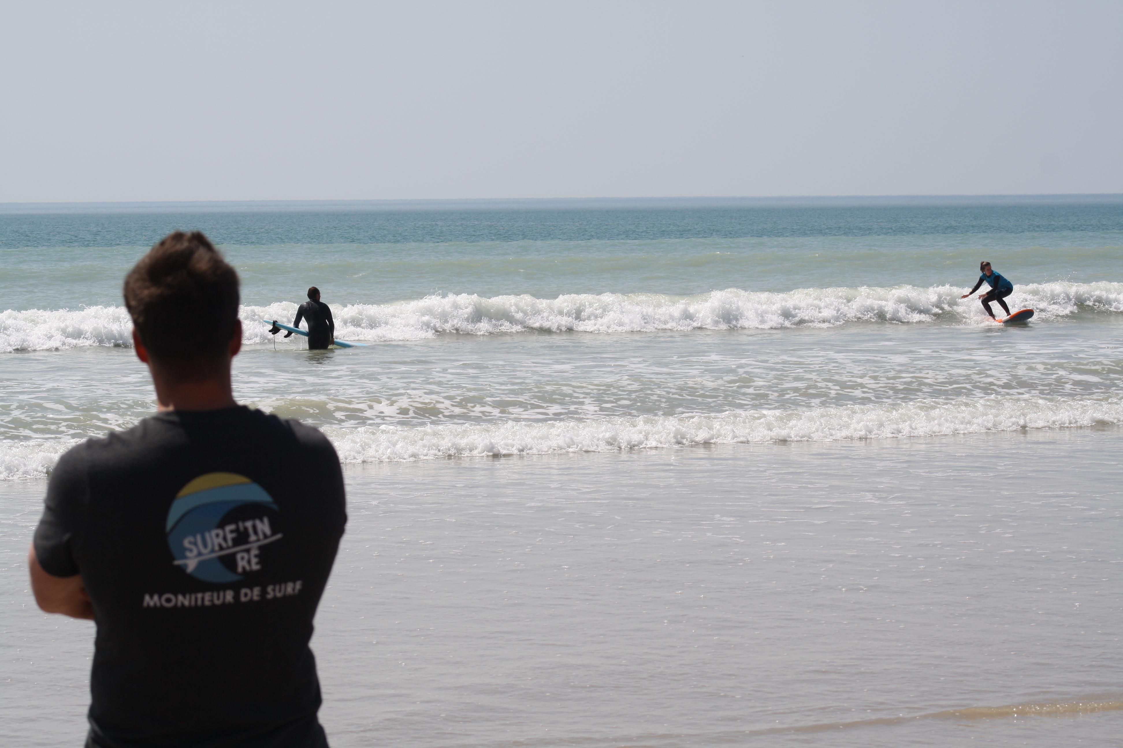 cours surf ile de re