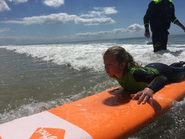 surfer sur l'ile de ré