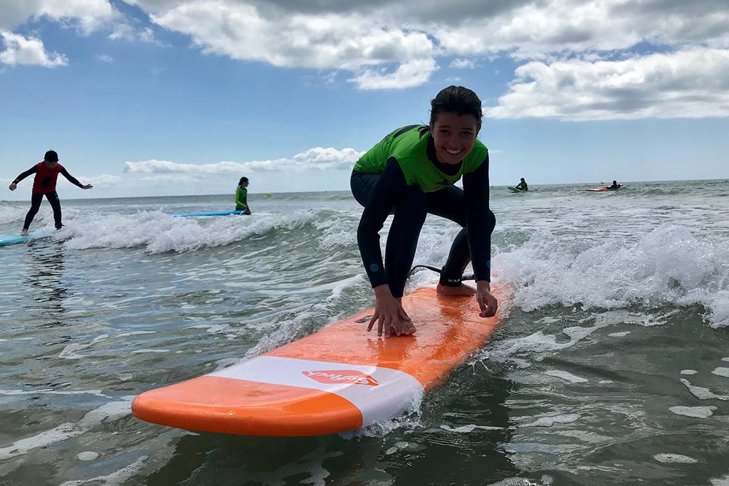 surf ile de ré avec ecole de surf surf'in Ré